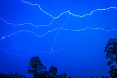 The night lightning Royalty Free Stock Photography