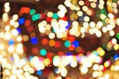 Night lights Stock Image