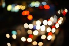 Night lights of the big city Stock Photo