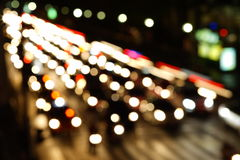 Night lights of the big city Royalty Free Stock Photos