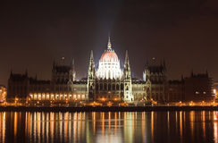 Night lights in Budapest. 13. Stock Image