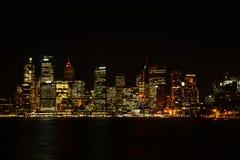 Night lights in CBD Royalty Free Stock Photos