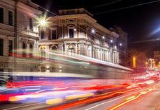 Night lights of the city Stock Image