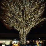 Night lights designs. Ceiling lights decor art display night designs royalty free stock photo