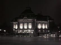 Night lights Hamburg Stock Image