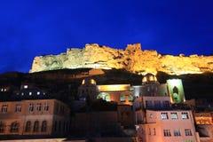 Mardin Castle in Turkey. Royalty Free Stock Photos