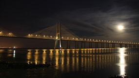 Vasco da Gama Bridge Stock Images