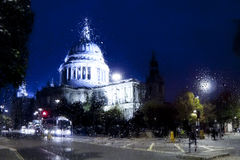 By-night London Royalty Free Stock Photography