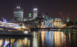 Night london Stock Image