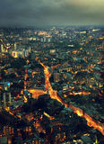 Night London, UK stock image
