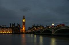 Night London view stock photos