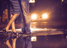 Night love at colombo Royalty Free Stock Images