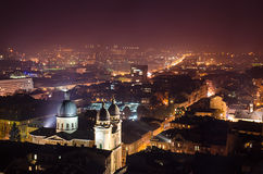 Night Lviv Royalty Free Stock Photos
