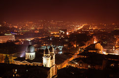 Night Lviv Stock Images
