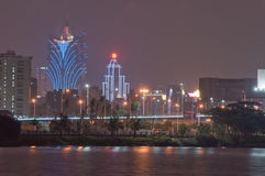 Night of macao Royalty Free Stock Images