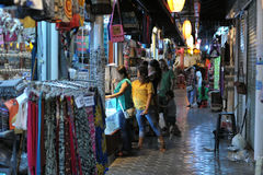 Night Market Stock Images