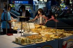 Night market bakery Royalty Free Stock Photography