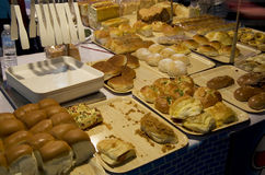 Night market bakery Royalty Free Stock Images