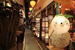 Night Market,Bangkok,Thailand. Varities products displayed in the night market,Bangkok,Thailand stock image