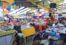 Night market Bangkok Thailand Royalty Free Stock Photography