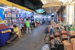 Night market Bangkok Thailand Stock Photo