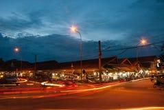 Night market Cambodia Stock Image
