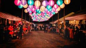 Night market stock photography