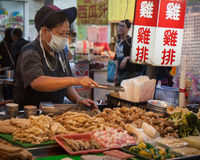 Night market food Royalty Free Stock Photography