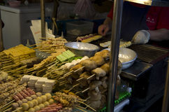 Night market food vender Royalty Free Stock Photography