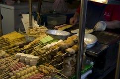 Night market food vender Royalty Free Stock Photography