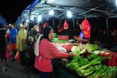 Night market in Malaysia Stock Image