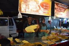 Night Market Malaysia stock photo