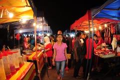 Night market in Malaysia Stock Photo