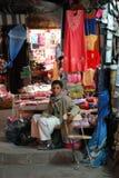 Night market in Sanaa, Yemen Stock Image