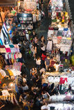 Night market at Siam Square shopping center. Royalty Free Stock Photography