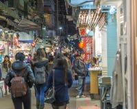Night market in Taipei Royalty Free Stock Photography