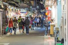 Night market in Taipei Stock Photo