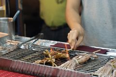 Night Market Delicious Food In Taiwan stock photos