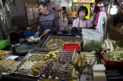 Night market Taiwan Royalty Free Stock Photos