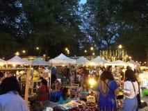 Night market. Market time at night royalty free stock photos