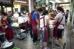 Night market venders Royalty Free Stock Image