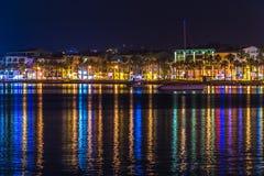 Night in Marmaris Royalty Free Stock Image