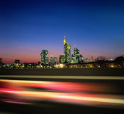 Night megapolis new Stock Images