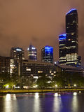 Night, Melbourne Victoria Royalty Free Stock Photo