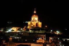 Night Messina in Sicily, Italy Royalty Free Stock Image