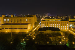 00015-Night miasto Krasnodar Fotografia Royalty Free