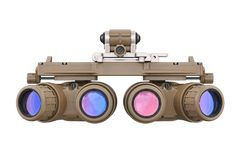 Night vision, front view Stock Image