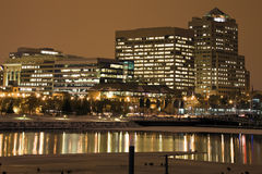 Night in Milwaukee Stock Photos