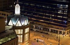 Night in Milwaukee Stock Photos