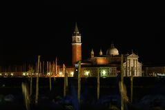 Night mistery in Venice Royalty Free Stock Image